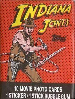 IndianaJonesTempleOfDoomTradingCards