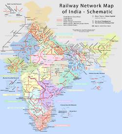 IndianRailMap