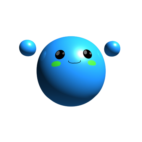 Blue Blob's old render