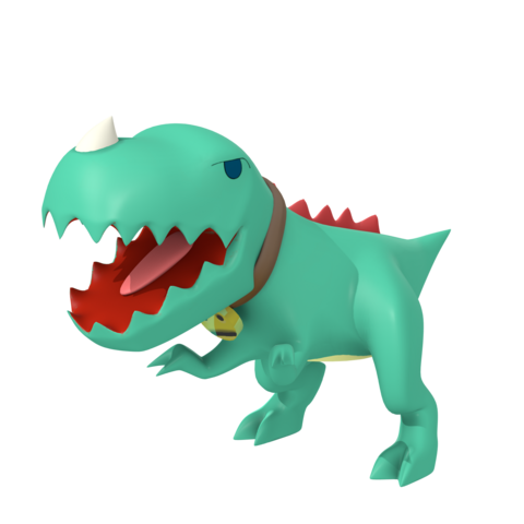 Rex's old render and model