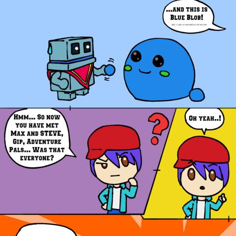 IGB Comic #1 - Matt the Giant
