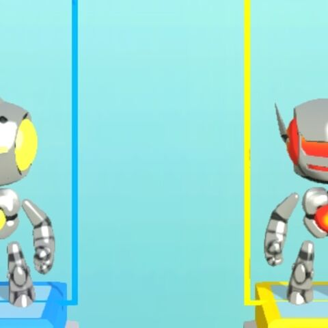 The 4 different Jibbots in the selection screen