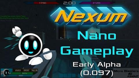 Nexum - Nano Multiplayer Gameplay Early Alpha (0.097) -Very Fast Paced Unity FPS-