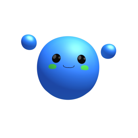 File:Blue Blob - Render.png