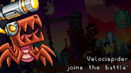 Velocispider joins