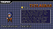 Teslamancer trophy