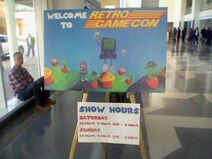 Welcome to RetroGameCon Day 1