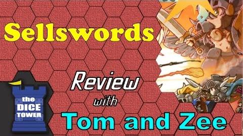 Sellswords Review - with Tom Vasel and Zee Garcia