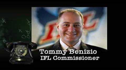 IFL Commissioner Tommy Benizio