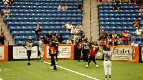 Wichita Wild Passing TD - Rasmussen to Fudge