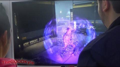 CES 2014 inFAMOUS Second Son Gameplay