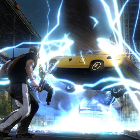 Tornado jonowe Cole'a z E3.