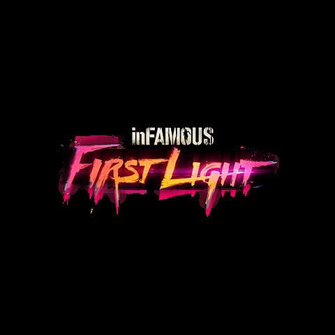 Logo zestawu trofeów <i>inFamous: First Light</i>.