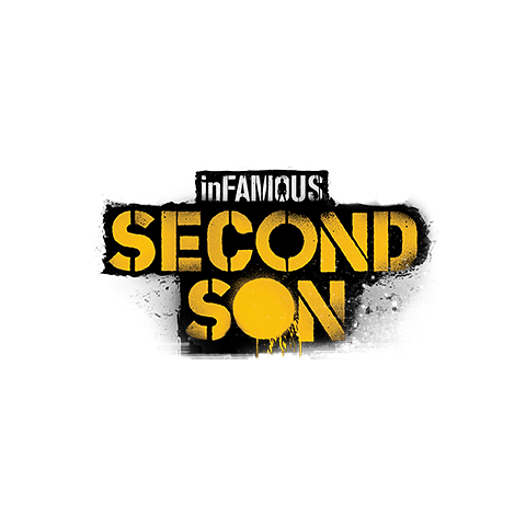 Logo zestawu trofeów inFamous: Second Son.