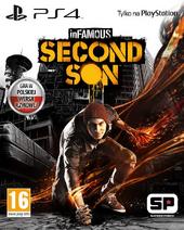 Zlokalizowana okładka gry (inFamous Second Son)