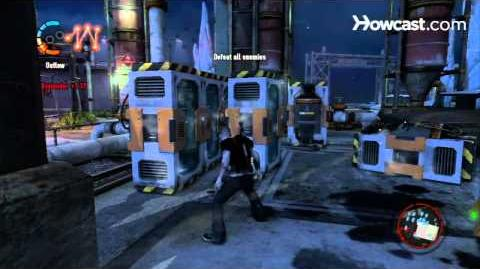InFamous 2 Walkthrough Side Missions Part 64 Ice Storm