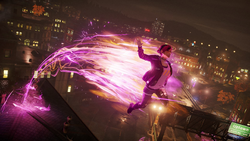 Fetch wykonuje skok fotonowy (inFamous First Light)