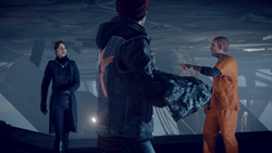 Delsin becomes a victim of Hank's betrayal