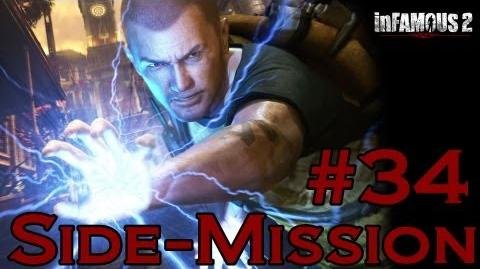 Infamous 2 Walkthrough - Side-Mission 34 Convoy II