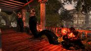 Nix is using Tar Grapple on Militia (inFamous 2)