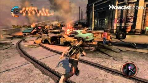 InFamous 2 Walkthrough Side Missions Part 19 Chopper vs. Monsters