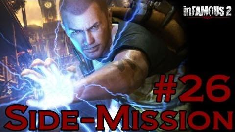 Infamous 2 Walkthrough - Side-Mission 26 Convoy