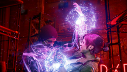 Delsin absorbuje moce Fetch (inFamous Second Son)