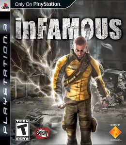 InFamous NA cover