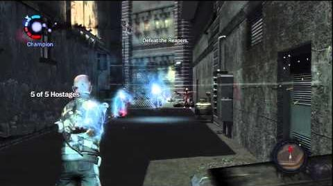 InFamous Neon District - Officer Down