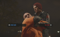 InFamous Second Son Karmic Moment - Hank