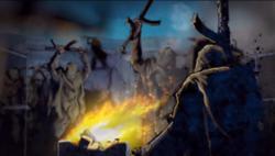 Fiesta de los hombres de polvo