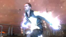Cole przyzywa burzę piorunów (inFamous 2)