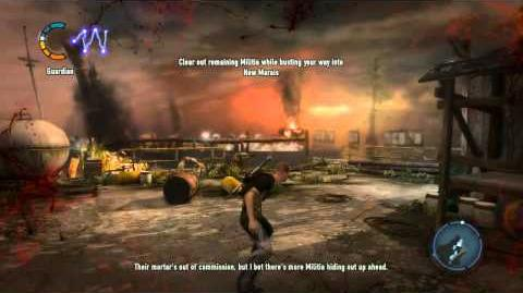 InFAMOUS 2 - 01 - Breaking Into New Marais - HD on Hard