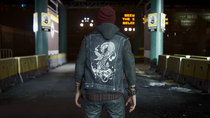 Delsin wearing Still Waters vest