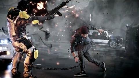 『inFAMOUS Second Son』 PS4™ NEW TITLE TRAILER