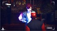 Abigail attaque un civil