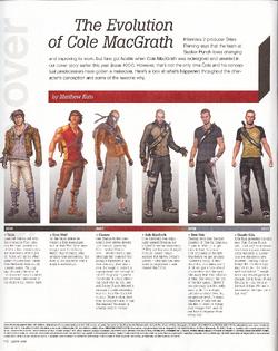 Ewolucja Cole'a MacGratha