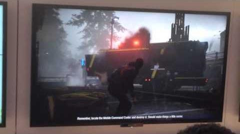 InFamous Second Son gameplay (Off-Screen) 1 of 3