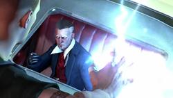 Bertrand w limuzynie (inFamous 2)