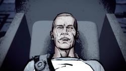 Martwy Cole w trumnie (inFamous 2)
