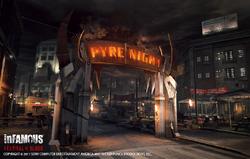 Pyre Night gate