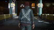 Delsin wearing Loaded vest