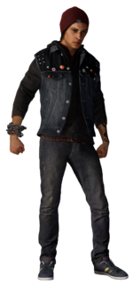 Render Delsina Rowe (inFamous Second Son)