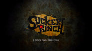 Sucker Punch logo in Infamous 2