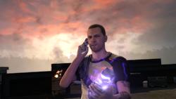 Cole kontaktuje się Kuo i Wolfem (inFamous 2)