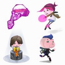 Abigail Walker pixel avatars from PSN