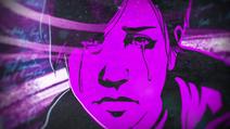 Abigail in tears