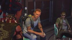 Nix informuje Cole'a o potworach Bertranda (inFamous 2)