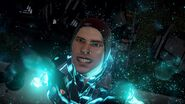 Delsin is happy