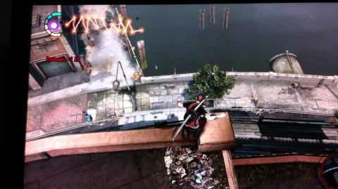 Killing zeke on Infamous 2